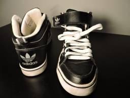 Tênis Adidas Bota Unissex 39 Couro. Original e Pouco Uso.