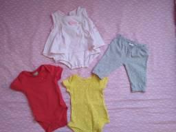 Título do anúncio: Lote roupa de bebê