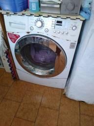 Título do anúncio: Máquina de lavar , lava e seca lg 8,5kg-