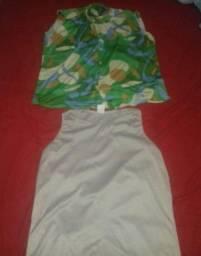 Blusa feminina GG 4 por 10 reais