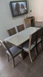Mesa New charme 6 cadeiras