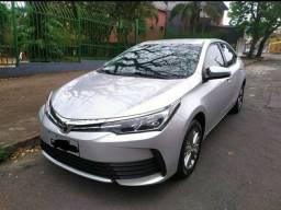 Título do anúncio: Toyota Corolla GLI automático 1.8 2018 Flex