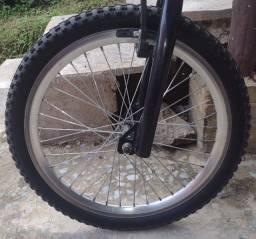Par de rodas aro 20 cromada