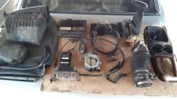 Blazer S10 V6 TBI Aranha Bicos centrais eletrônicas cabo e comando da caixa