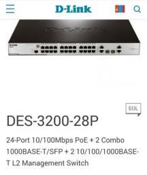 Vende-se um Switch  D-Link 28 pontas.