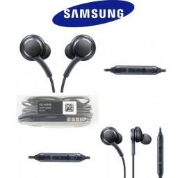 Fone de ouvido Samsung AKG compativel S9/S8/S8+/S7/Note9/8 /EarBuds/Headset Entre Outros