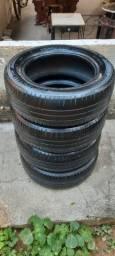 Título do anúncio: Jogo 4 pneus aro 15 Michelin - Raridade!!!