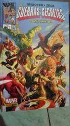 Marvel HQ Guerras Secretas edição de luxo