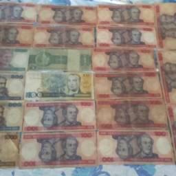 Vendo dinheiro antigo