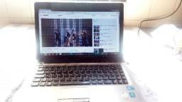 Notebook lenovo z460 i3, 4gb memoria, 320gb HD. super rápido