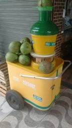 Carrocinha de água de coco