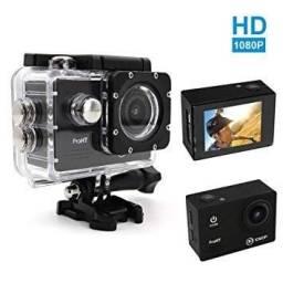 Câmera Filmadora Hd 1080p Sport Cam Stand Up Prova Dagua Mini Dv