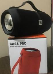 Caixa Bluetooth Bass pro R5+ JBL Transmissão de músicas sem a necessidade de fios