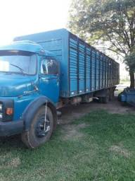 Caminhão boiadeiro 1113 Motor 352A Turbo - 1989
