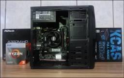 Novo Ryzen 3200 4.00Ghz 8Gb Ddr4 Ssd M2 240Gb Com AutoCad CorelDraw Photoshop Office