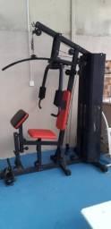 Vendo estação de musculação 800 reais