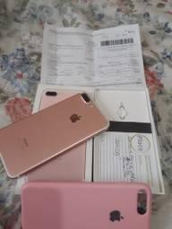 IPhone 7 Plus com nota fiscal