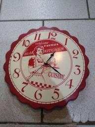 Relógio de parede retro