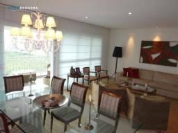 Apartamento mobiliado no Edifício Riviera Santa Rosa com 5 dormitórios à venda, 254 m² por