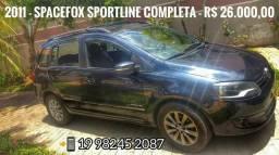 Spacefox Sportline 2011 Completa - Mecânica - 2011