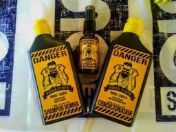 Kit lenhador Shampoo + Condicionador + Óleo