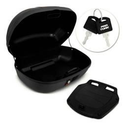 Hobbies Baú Moto 2 Capacetes Smart Box 2 45 Litros + Base de Fixação Coleções Acessórios