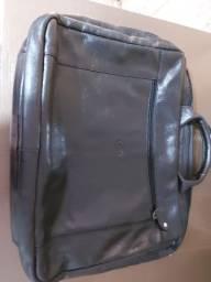 Maleta para notebook em couro legítimo