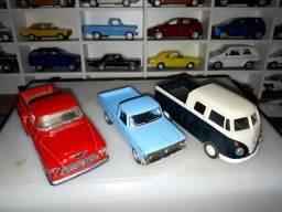 Kit 03 Miniatura Pick-Up Kombi / F100 / Chevy