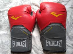 Luvas de Boxe / Muay Thai - Everlast Elite Evershield 14 OZ