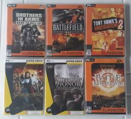 Jogos PC usados original (CD em Ótimo estado)