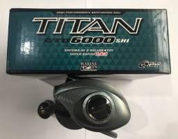 Carretilha Titan Pro 6000 6 Rolamentos, lado direito, Marine Sports