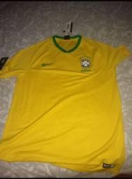 Camisa Oficial do Brasil M