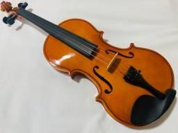 Violino Jahnke Estudante Alto Brilho