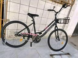 Bicicleta Caloi essencial nova na coisa com nota e todos acessórios