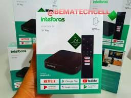 TV Box INTELBRAS Android (OFICIAL) comando de voz ORIGINAL ANATEL