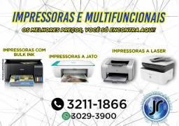 Impressoras Multifuncionais a partir de 489 - Nova garantia 1 ano (loja)