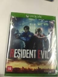 Resident Evil 2 Xbox one novo/lacrado