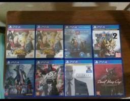 Vendo jogos de ps4, preços na descrição