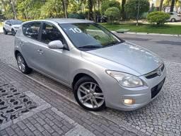 Hyundai I30 2010 Gls 2.0 aut/tip prata completíssimo+couro+novíssimo!!!