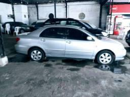 Corolla XLI 1.6 aut. Blind. 2003 4/p Completo motor novo na garantia