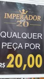 Loja Imperador do 20 próximo ao Supermercado Camiño (carone) feira do Maiobao.