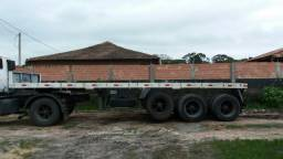 Carreta para container de 20 bobineira