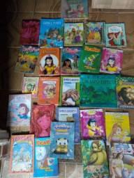 Livros de histórias infantis R$2,00 (cada)