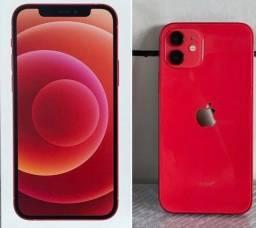 Smartphone Apple iPhone 12 Vermelho 64 GB iOS Câmera Dupla