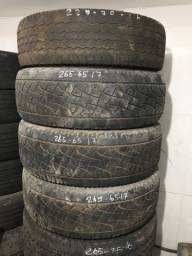 pneu camionete aro 17 e 16 carcaça