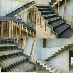 Escadas Batidas Em Geral