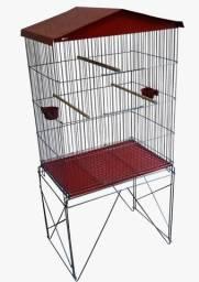 Título do anúncio: Viveiro Pássaro Gaiolão Grande Com Bandeja Zincada