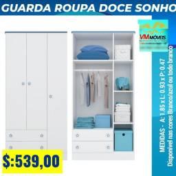 Guarda Roupas Doce Sonho Entrega em Aparecida de Goiânia e Goiânia tênis hdkshs