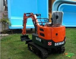 Título do anúncio: Mini escavadeira Semax SX10 nova 0km