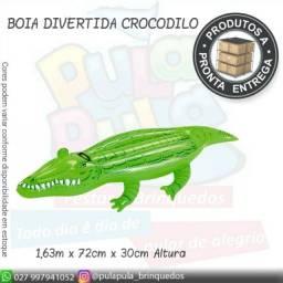 Boia Crocodilo - infantil A pronta entrega!!